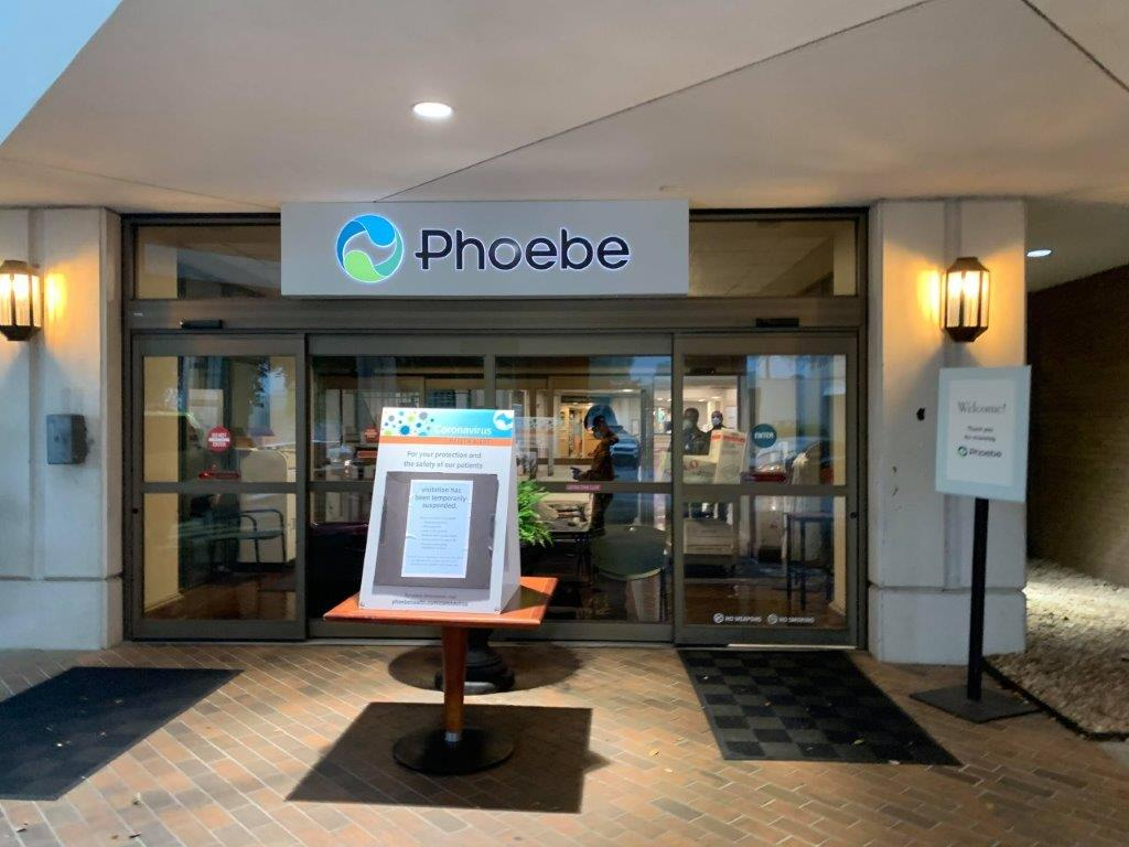 Pheobe Front Entrance